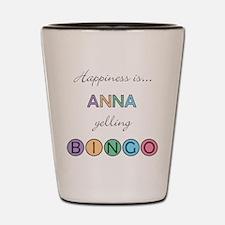 Anna BINGO Shot Glass