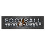 TOP Football Slogan Sticker (Bumper 50 pk)