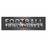 TOP Football Slogan Sticker (Bumper 10 pk)