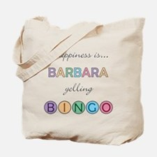 Barbara BINGO Tote Bag