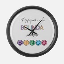 Belinda BINGO Large Wall Clock