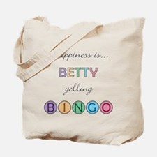 Betty BINGO Tote Bag