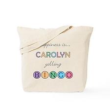 Carolyn BINGO Tote Bag
