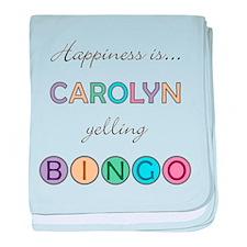 Carolyn BINGO baby blanket