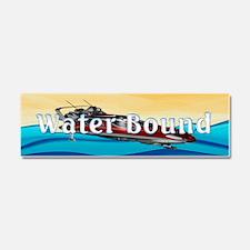 Water Bound Car Magnet 10 x 3