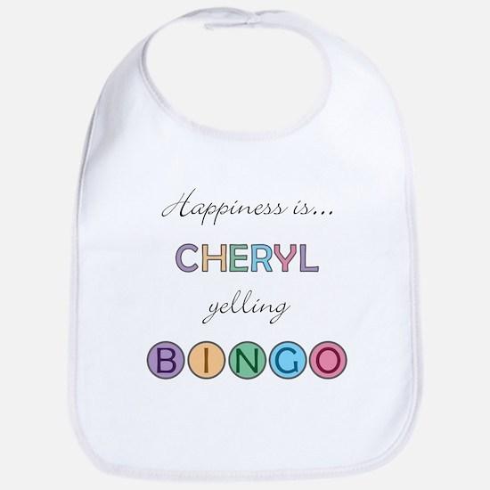 Cheryl BINGO Bib