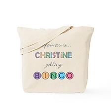 Christine BINGO Tote Bag