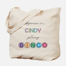 Cindy BINGO Tote Bag