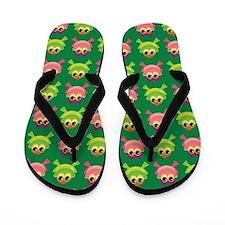 Frog Flip Flops