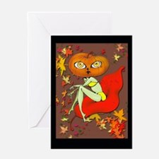 Cool Cute vampire Greeting Card