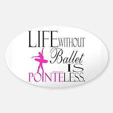 Pointeless Sticker (Oval)