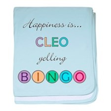 Cleo BINGO baby blanket