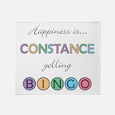 Constance BINGO Throw Blanket