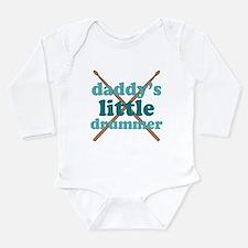 Daddy's Little Drummer Long Sleeve Infant Bodysuit