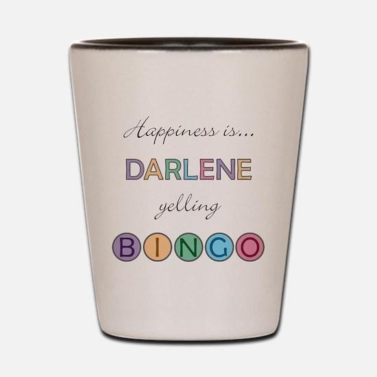 Darlene BINGO Shot Glass