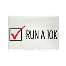 Run a 10k Rectangle Magnet