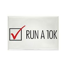 Run a 10k Rectangle Magnet