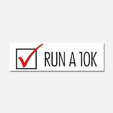 Run a 10k Car Magnet 10 x 3