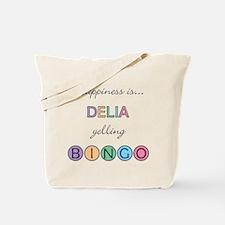 Delia BINGO Tote Bag