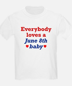 June 8th Kids T-Shirt