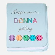 Donna BINGO baby blanket