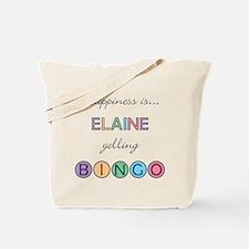 Elaine BINGO Tote Bag