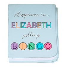 Elizabeth BINGO baby blanket