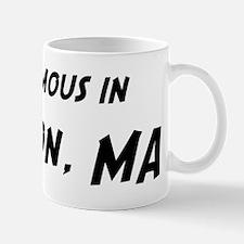 Famous in Newton Mug