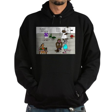 Three Blind Mice Hoodie (dark)