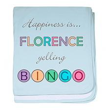 Florence BINGO baby blanket