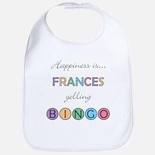 Frances BINGO Bib