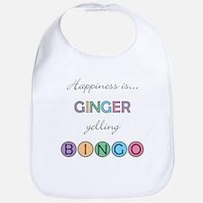 Ginger BINGO Bib
