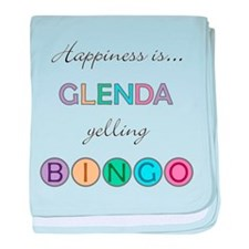 Glenda BINGO baby blanket