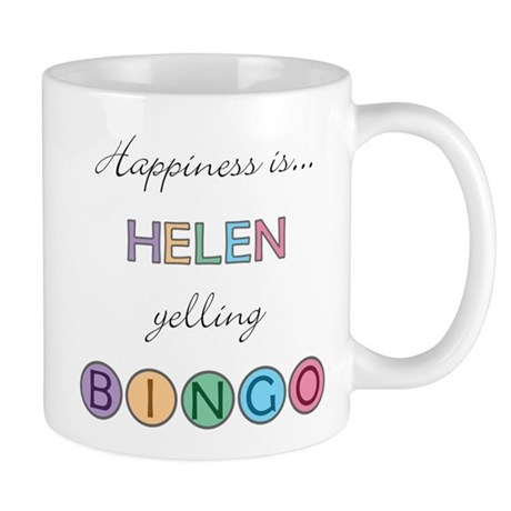Helen BINGO Mug
