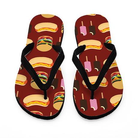 Summer BBQ Flip Flops