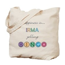 Irma BINGO Tote Bag