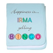 Irma BINGO baby blanket