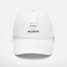 Janice BINGO Baseball Baseball Cap