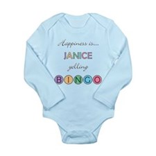 Janice BINGO Long Sleeve Infant Bodysuit