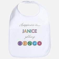 Janice BINGO Bib