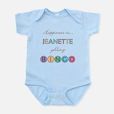 Jeanette BINGO Infant Bodysuit