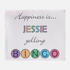 Jessie BINGO Throw Blanket