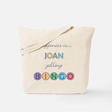 Joan BINGO Tote Bag