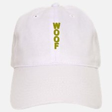WOOF_YELLOW W/BLACK VERTICAL MOSAIC Baseball Baseball Cap