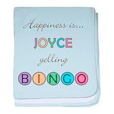 Joyce BINGO baby blanket