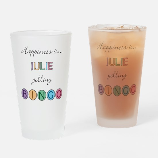 Julie BINGO Drinking Glass