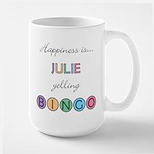 Julie BINGO Large Mug