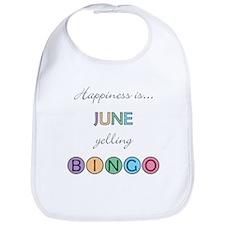 June BINGO Bib