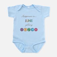 June BINGO Infant Bodysuit