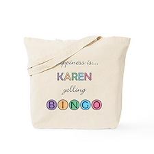 Karen BINGO Tote Bag